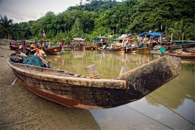 Fishing Village at Patong