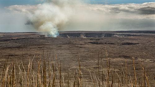 Kilauea Volcano on the Big Island of Hawaii