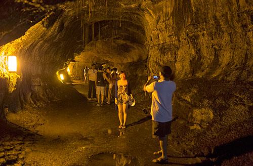 The Lava Tubes on the Big Island of Hawaii